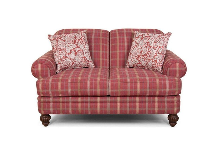 Country Style Sofa And Loveseat