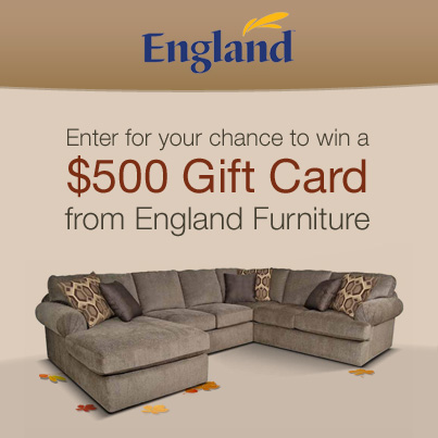 England Furniture Fall Sweepstakes